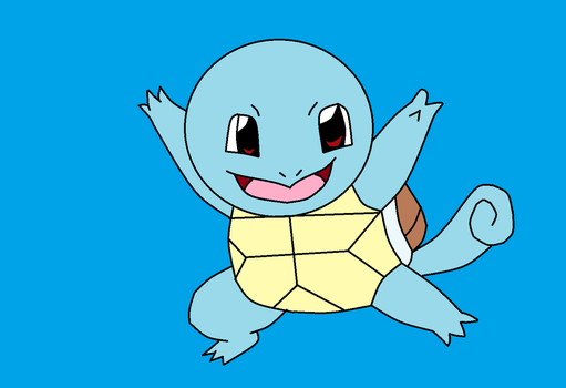 Squirtle by LycanrockHeathcliff