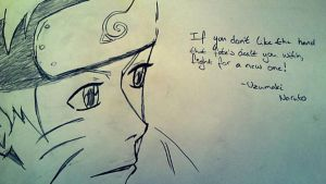 Narutos wise words by TQJulie