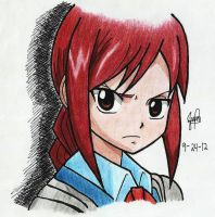 ~Little Erza~ by jhonakitty