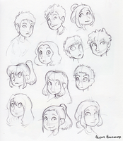 Faces by little-ampharos