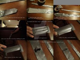 Duct Tape Tie 4-4 by xcmer