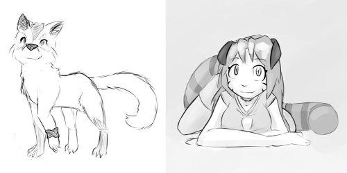 Late night Sketches -June 29- by MOOMANiBE