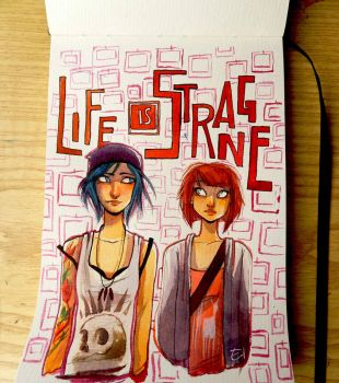 LifeIsStrange - Fanart by Elena-El