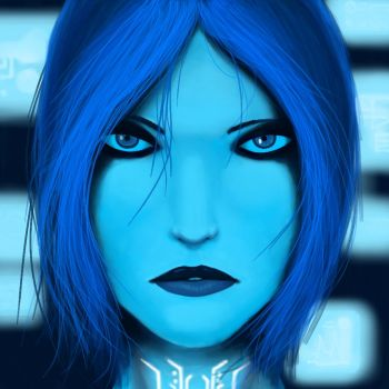 Cortana by Maniacal-Mannequin