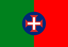 Combined flag of language: Portuguese by hosmich