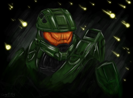 The Master Chief by TheOmegaRidley