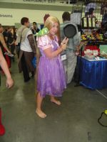 Rapunzel from Tangled cosplayer at Otakon 2012 by ShizNat4EVER