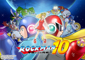 Rockman 10 Mock Package by MGNemesi