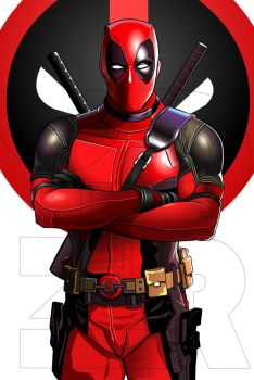 Dead pool vectoArt by fullyvector