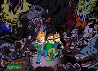 Happy Halloween from The Beginning And The Friend by Eddsworld-tbatf