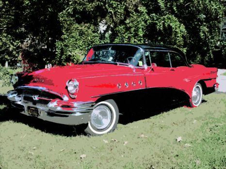 1955 Buick by CU-rob