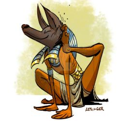 Anubis by BrianKesinger