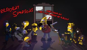 Resident Simpsons by UmbrellaSpecter
