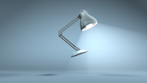 Jumping Lamp Day1 by cinema4d
