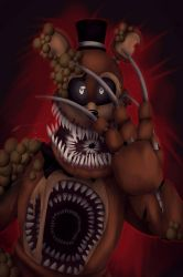 Twisted Freddy (+ speedpaint ) by LordOfTheFeathers