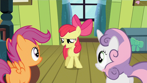 Apple Bloom Talking (animated GIF) by CorpulentBrony