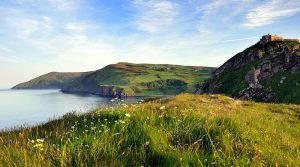 Torr Head and Portaleen Bay by younghappy