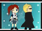 [Resident Chibis] Claire and Wesker