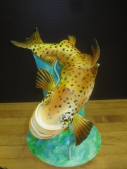 Pastillage Rainbow Trout by recycledrapunzel