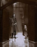 Bloodborne: Laurence and Amelia by RisingMonster