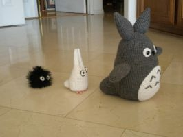 Totoro by aphid777