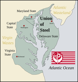 Inkscape Practice I, 'Union of Steel' (Fallout) by Artificer6
