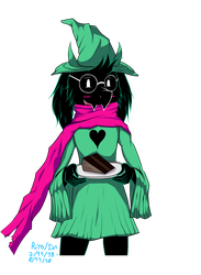 Ralsei (mouse version) by ianmata1998