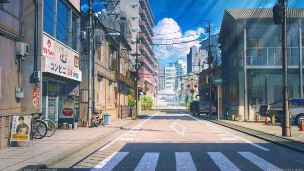 Tokyo street by arsenixc