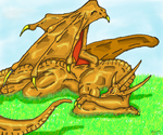 Bronze Dragon by Twylyght99