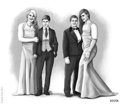 Formal figures by Eves-Rib