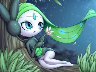 Mellow Meloetta by MurPloxy