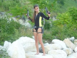 Tomb Raider Cosplay Underworld Wetsuit by DayanaCroft