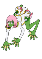 Another Princess Frog, Estelle by Xysash