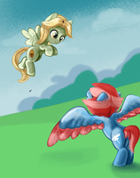 Flying Fillies by HageIcons