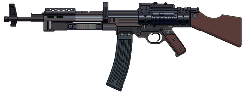 Assault Rifle 1946 by Ruiner3000