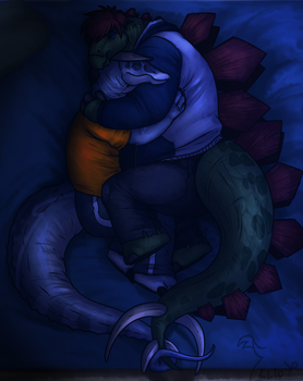 I like where you sleep... here by Sir-Hootalot