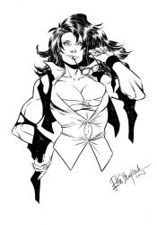 She-Hulk sketch commission by elena-casagrande