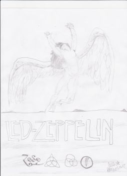 Led Zeppelin poster by AllStar12
