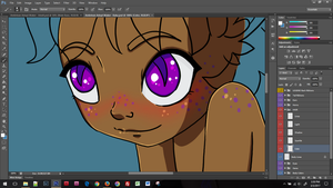 Preview: Baby Ambrivan WIP by iLantiis