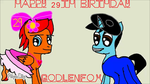 HAPPY BIRTHDAY GOLDENFOX by Twilyx360