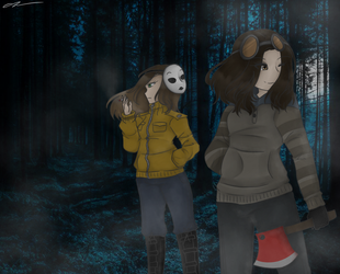 In the Woods || Gift/RQ by OrcaArtzz