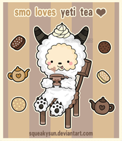 Smo loves yeti tea by SqueakyToybox