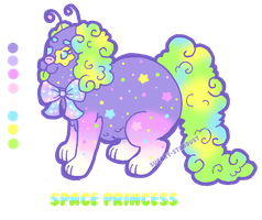 Breeding || Space Princess Wishpup by Sugary-Stardust