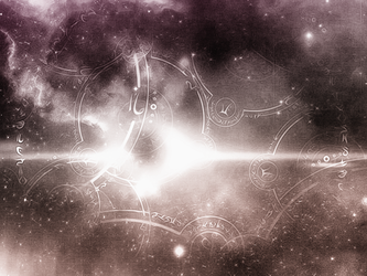 Arcane Galaxy Jan - 2013 - Pink and Purple by theburningmuse