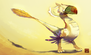 Chocobo Thing by Mante-pls