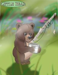 Little Bear's Fishing Trip by imaginativegenius099