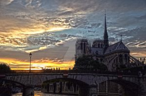 Notre Dame HDR by error413