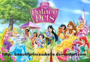 Disney Palace Pets - Princesses With Their Pets by BeautifPrincessBelle