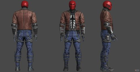 Red Hood IJ2 Jacketed by SSingh511