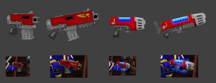 Torchlight 40K Guns Mod by biew1986